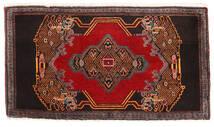 Senneh Χαλι 49X90 Ανατολής Χειροποιητο Σκούρο Καφέ/Σκούρο Κόκκινο (Μαλλί, Περσικά/Ιρανικά)
