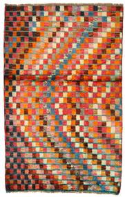 Moroccan Berber - Afghanistan Χαλι 86X134 Σύγχρονα Χειροποιητο Kόκκινα/Πορτοκαλί (Μαλλί, Αφγανικά)