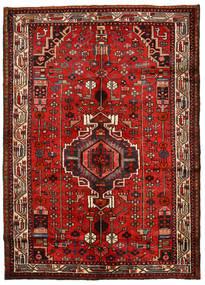 Hamadan Χαλι 148X208 Ανατολής Χειροποιητο Στο Χρώμα Της Σκουριάς/Σκούρο Κόκκινο (Μαλλί, Περσικά/Ιρανικά)
