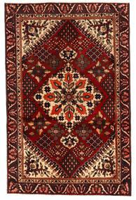 Bakhtiar Χαλι 125X195 Ανατολής Χειροποιητο Σκούρο Καφέ/Σκούρο Κόκκινο (Μαλλί, Περσικά/Ιρανικά)
