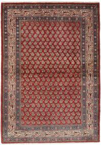 Sarough Mir Χαλι 106X158 Ανατολής Χειροποιητο Σκούρο Καφέ/Μαύρα (Μαλλί, Περσικά/Ιρανικά)