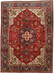 Tabriz Χαλι 211X289 Ανατολής Χειροποιητο Σκούρο Κόκκινο/Σκούρο Καφέ (Μαλλί, Περσικά/Ιρανικά)