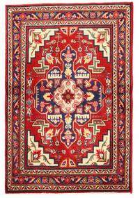 Tabriz Χαλι 97X148 Ανατολής Χειροποιητο Σκούρο Μωβ/Στο Χρώμα Της Σκουριάς (Μαλλί, Περσικά/Ιρανικά)