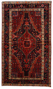 Toiserkan Χαλι 145X247 Ανατολής Χειροποιητο Σκούρο Κόκκινο/Σκούρο Καφέ (Μαλλί, Περσικά/Ιρανικά)
