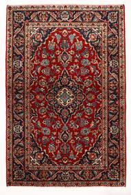 Keshan Χαλι 97X147 Ανατολής Χειροποιητο Σκούρο Κόκκινο/Μπεζ (Μαλλί, Περσικά/Ιρανικά)