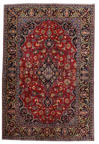 Keshan Χαλι 140X210 Ανατολής Χειροποιητο Σκούρο Κόκκινο (Μαλλί, Περσικά/Ιρανικά)