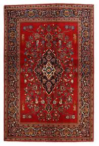 Keshan Χαλι 138X210 Ανατολής Χειροποιητο Στο Χρώμα Της Σκουριάς/Σκούρο Καφέ (Μαλλί, Περσικά/Ιρανικά)