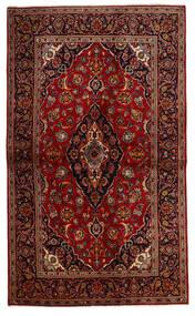 Keshan Χαλι 137X230 Ανατολής Χειροποιητο Σκούρο Κόκκινο/Σκούρο Καφέ (Μαλλί, Περσικά/Ιρανικά)