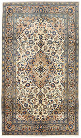 Keshan Χαλι 143X250 Ανατολής Χειροποιητο Μπεζ/Σκούρο Γκρι (Μαλλί, Περσικά/Ιρανικά)