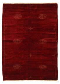 Huttan Χαλι 142X195 Ανατολής Χειροποιητο Σκούρο Κόκκινο/Σκούρο Καφέ (Μαλλί, Πακιστανικά)