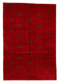 Huttan Χαλι 125X183 Ανατολής Χειροποιητο Σκούρο Κόκκινο (Μαλλί, Πακιστανικά)