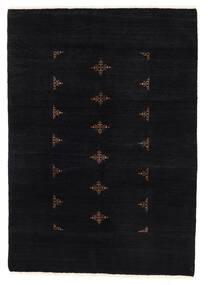Huttan Χαλι 137X195 Ανατολής Χειροποιητο Μαύρα (Μαλλί, Πακιστανικά)