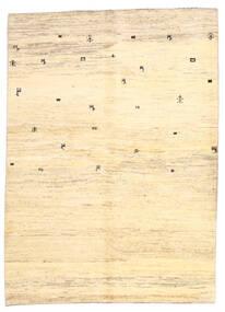 Γκάμπεθ Περσία Χαλι 169X236 Σύγχρονα Χειροποιητο Μπεζ/Κίτρινος (Μαλλί, Περσικά/Ιρανικά)