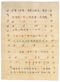 Γκάμπεθ Περσία Χαλι 144X196 Σύγχρονα Χειροποιητο Μπεζ/Ανοιχτό Καφέ (Μαλλί, Περσικά/Ιρανικά)
