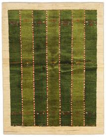 Γκάμπεθ Περσία Χαλι 146X190 Σύγχρονα Χειροποιητο Σκούρο Πράσινο/Μπεζ (Μαλλί, Περσικά/Ιρανικά)