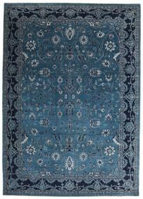 Γκάμπεθ Loribaft Χαλι 201X282 Σύγχρονα Χειροποιητο Σκούρο Μπλε/Μπλε (Μαλλί, Ινδικά)