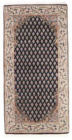 Mir Indo Χαλι 61X123 Ανατολής Χειροποιητο Σκούρο Γκρι/Καφέ (Μαλλί, Ινδικά)