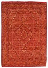 Γκάμπεθ Loribaft Χαλι 128X182 Σύγχρονα Χειροποιητο Πορτοκαλί/Kόκκινα/Στο Χρώμα Της Σκουριάς (Μαλλί, Ινδικά)