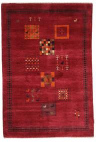 Γκάμπεθ Loribaft Χαλι 120X180 Σύγχρονα Χειροποιητο Kόκκινα/Σκούρο Κόκκινο (Μαλλί, Ινδικά)