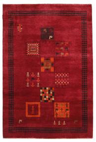 Γκάμπεθ Loribaft Χαλι 145X215 Σύγχρονα Χειροποιητο Kόκκινα/Σκούρο Κόκκινο (Μαλλί, Ινδικά)