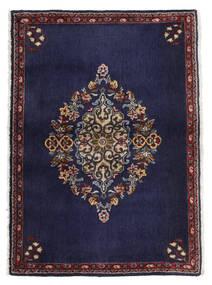 Keshan Χαλι 68X96 Ανατολής Χειροποιητο Σκούρο Μωβ/Σκούρο Καφέ (Μαλλί, Περσικά/Ιρανικά)