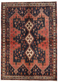 Afshar Χαλι 160X225 Ανατολής Χειροποιητο Σκούρο Γκρι/Σκούρο Κόκκινο (Μαλλί, Περσικά/Ιρανικά)