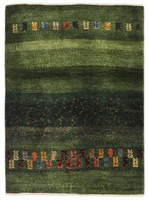 Γκάμπεθ Περσία Χαλι 91X126 Σύγχρονα Χειροποιητο Σκούρο Πράσινο/Λαδί (Μαλλί, Περσικά/Ιρανικά)