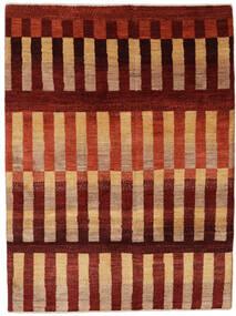 Γκάμπεθ Περσία Χαλι 125X171 Σύγχρονα Χειροποιητο Σκούρο Κόκκινο/Στο Χρώμα Της Σκουριάς (Μαλλί, Περσικά/Ιρανικά)