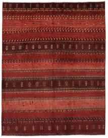 Γκάμπεθ Περσία Χαλι 156X202 Σύγχρονα Χειροποιητο Σκούρο Κόκκινο/Σκούρο Καφέ (Μαλλί, Περσικά/Ιρανικά)