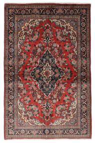 Ghom Kork/Μετάξι Χαλι 139X212 Ανατολής Χειροποιητο Σκούρο Κόκκινο/Μαύρα (Μάλλινα/Μεταξωτά, Περσικά/Ιρανικά)
