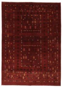 Γκάμπεθ Περσία Χαλι 150X210 Σύγχρονα Χειροποιητο Σκούρο Κόκκινο/Σκούρο Καφέ (Μαλλί, Περσικά/Ιρανικά)
