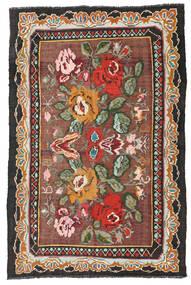 Κιλίμ Rose Moldavia Χαλι 134X204 Ανατολής Χειροποίητη Ύφανση Σκούρο Κόκκινο/Μαύρα (Μαλλί, Μολδαβία)