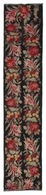 Κιλίμ Rose Moldavia Χαλι 66X312 Ανατολής Χειροποίητη Ύφανση Χαλι Διαδρομοσ Μαύρα/Σκούρο Κόκκινο (Μαλλί, Μολδαβία)