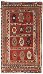 Κιλίμ Βιντάζ Χαλι 133X232 Ανατολής Χειροποίητη Ύφανση Σκούρο Κόκκινο/Ανοιχτό Καφέ/Σκούρο Καφέ (Μαλλί, Περσικά/Ιρανικά)