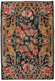 Κιλίμ Rose Moldavia Χαλι 201X298 Ανατολής Χειροποίητη Ύφανση Μαύρα/Σκούρο Κόκκινο (Μαλλί, Μολδαβία)