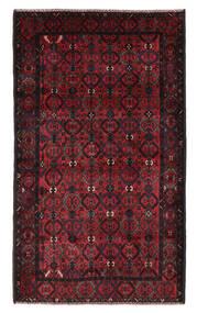 Beluch Χαλι 115X196 Ανατολής Χειροποιητο Μαύρα/Σκούρο Κόκκινο (Μαλλί, Αφγανικά)