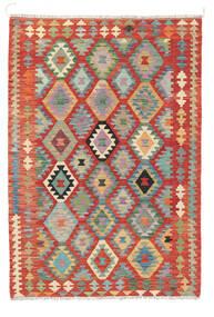 Κιλίμ Afghan Old Style Χαλι 122X178 Ανατολής Χειροποίητη Ύφανση Στο Χρώμα Της Σκουριάς (Μαλλί, Αφγανικά)