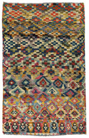 Moroccan Berber - Afghanistan Χαλι 117X182 Σύγχρονα Χειροποιητο Σκούρο Γκρι/Ανοιχτό Γκρι (Μαλλί, Αφγανικά)