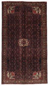 Hosseinabad Χαλι 159X288 Ανατολής Χειροποιητο Χαλι Διαδρομοσ Μαύρα/Σκούρο Καφέ (Μαλλί, Περσικά/Ιρανικά)