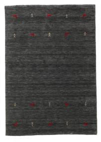 Γκάμπεθ Loom Two Lines - Δευτερεύον Χαλι 140X200 Σύγχρονα Μαύρα/Μπεζ (Μαλλί, Ινδικά)