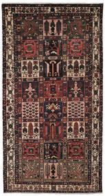 Bakhtiar Χαλι 157X297 Ανατολής Χειροποιητο Χαλι Διαδρομοσ Μαύρα/Σκούρο Καφέ (Μαλλί, Περσικά/Ιρανικά)