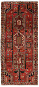 Ardebil Χαλι 140X308 Ανατολής Χειροποιητο Χαλι Διαδρομοσ Μαύρα/Σκούρο Κόκκινο (Μαλλί, Περσικά/Ιρανικά)