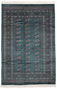 Pakistan Μπουχαρα 2Ply Χαλι 160X234 Ανατολής Χειροποιητο Μαύρα (Μαλλί, Πακιστανικά)
