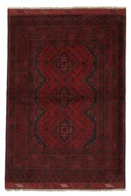 Afghan Khal Mohammadi Χαλι 106X149 Ανατολής Χειροποιητο Μαύρα/Λευκό/Κρεμ (Μαλλί, Αφγανικά)