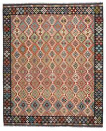 Κιλίμ Afghan Old Style Χαλι 260X304 Ανατολής Χειροποίητη Ύφανση Kόκκινα/Μαύρα Μεγαλα (Μαλλί, Αφγανικά)