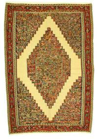 Κιλίμ Senneh Χαλι 198X292 Ανατολής Χειροποίητη Ύφανση (Μαλλί, Περσικά/Ιρανικά)